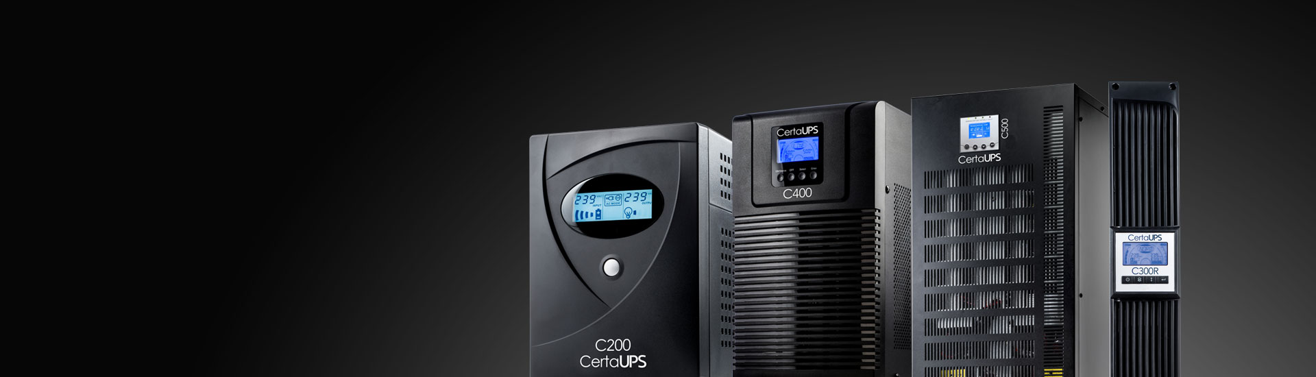 CertaUPS - Uninterruptible Power Supplies, UPS Power Systems for Servers & Edge Computing